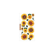 Vellum Stickers - Sunflowers