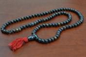 108 Pcs Tibetan Buddhist Bone Mala Prayer Beads