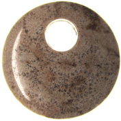 Bead Collection 41260 Agogo Coral Fossil Pendant, 40mm