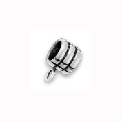 Charm Factory Pewter Three Rings Bead