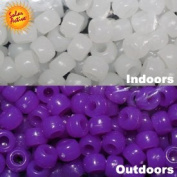 The Original Solaractive® Colour Changing Beads - White to Purple 250 per Pack
