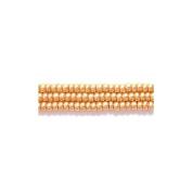 Preciosa Ornela Czech Seed Bead, Metallic Gold, Size 11/0