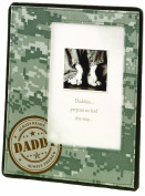 Lillian Rose Picture Frame, Daddy Military, 10cm x 15cm