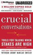 Crucial Conversations [Audio]