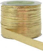 May Arts 1.3cm Wide Ribbon, Metallic Gold