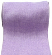 Kel-Toy RDJB106-32 Sparkle Faux Burlap Ribbon, 15cm by 10-Yard, Lavender