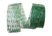Renaissance 2000 Ribbon, 6.4cm , Net, Blue/Green
