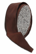 Ampelco Ribbon Company French Wired 27-Yard Taffeta Ribbon, 3.8cm , Chocolate