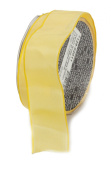 Ampelco Ribbon Company French Wired 27-Yard Taffeta Ribbon, 3.8cm , Lemon