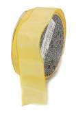 Ampelco Ribbon Company French Wired 27-Yard Taffeta Ribbon, 3.8cm , Lemon