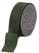Ampelco Ribbon Company French Wired 27-Yard Taffeta Ribbon, 3.8cm , Forest Green