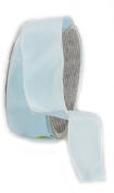 Ampelco Ribbon Company French Wired 27-Yard Taffeta Ribbon, 3.8cm , Soft Blue