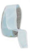 Ampelco Ribbon Company French Wired 27-Yard Taffeta Ribbon, 3.8cm , Soft Blue