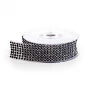 Koyal Rhinestone Ribbon with Stones, Koyal Black