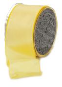 Ampelco Ribbon Company French Wired 27-Yard Taffeta Ribbon, 6.4cm , Lemon