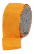 Ampelco Ribbon Company French Wired 27-Yard Taffeta Ribbon, 6.4cm , Orange