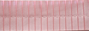 Pleated Trim Boxpleated Grosgrain Ribbon Roll, Light Pink, 25-Yard