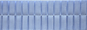 Pleated Trim Boxpleated Grosgrain Ribbon Roll, Light Blue, 25-Yard