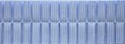 Pleated Trim Boxpleated Grosgrain Ribbon Roll, Light Blue, 25-Yard
