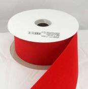 Embassy Red Velvet Christmas Ribbon 6.4cm or #40 - 25 Yards - Case of 12 Rolls