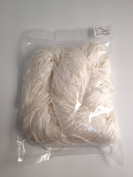 Undyed Silk Ribbon Small Skein for Hand Dye - 4mm 33yds x 10 Skein pack