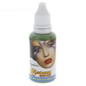 Custom Body Art 30ml Green Water Based Airbrush Body Art & Face Paint