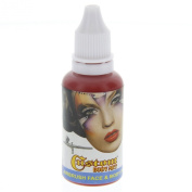 Custom Body Art 30ml Red Water Based Airbrush Body Art & Face Paint