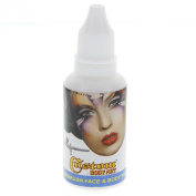 Custom Body Art 30ml White Water Based Airbrush Body Art & Face Paint