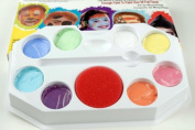 PASTEL PALLET Snazaroo Face Painting Pallet Water-Based, Easy-On & Easy-Off and Non-Toxic
