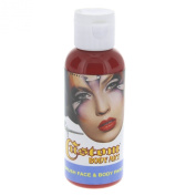 Custom Body Art 60ml Red Water Based Airbrush Body Art & Face Paint