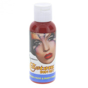 Custom Body Art 60ml Pink Water Based Airbrush Body Art & Face Paint