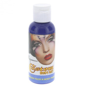 Custom Body Art 60ml Blue Water Based Airbrush Body Art & Face Paint