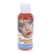 Custom Body Art 60ml Orange Water Based Airbrush Body Art & Face Paint