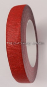 Red Metallic Stem Wrap - 1.3cm w 60' Roll