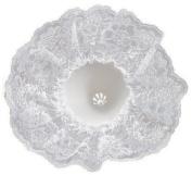 Bouquet Holder Lace Collar 23cm -White