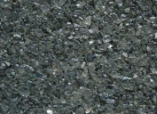 Coloured Glass Pebbles (GC7025) Grey, 3 lbs