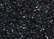 Coloured Glass Pebbles (GC9210) Black, 3 lbs