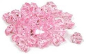 2 Pounds of Pink Acrylic Ice Rock Vase Gems or Table Scatters