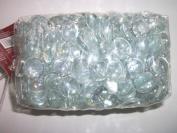 Clear Irridescent Glass Gems Floral Decor 3 Pounds