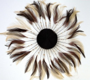 3 Pcs Full Pinwheels - BROWN/BEIGE MIX