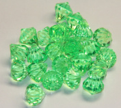 2lb of 20 Carat Apple Green Acrylic Diamonds - Big Diamonds Big Bling