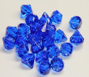 2lb of 20 Carat Royal Blue Acrylic Diamonds - Big Diamonds Big Bling