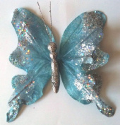 Christmas Butterfly Clip