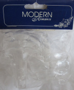 Modern Romance PACK of 6 JORDAN ALMOND HOLDERS Each CANDY HOLDER w FLOWER Shape at Top