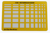 Artistic Design Template - Rectangular Blocks