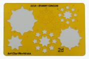 Artistic Design Template - Starry Circles