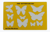 Artistic Design Template - Butterflies Too