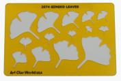 Artistic Design Template - Gingko Leaves