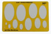 Artistic Design Template - Ovals-Medium