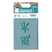 Small Feng Shui Stencil